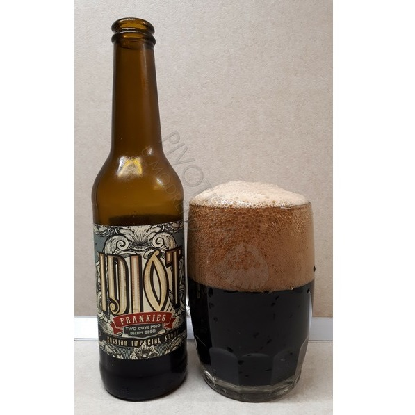 Frankies Idiot Russian imperial stout 24°