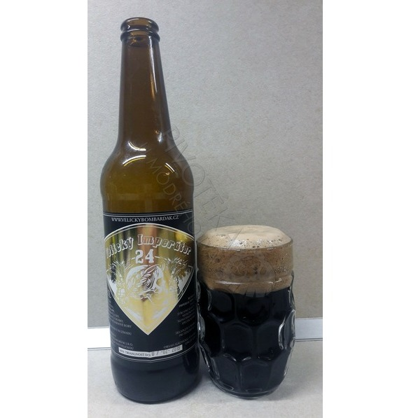 Velický Imperátor 24% Russian Imperial Stout sklo