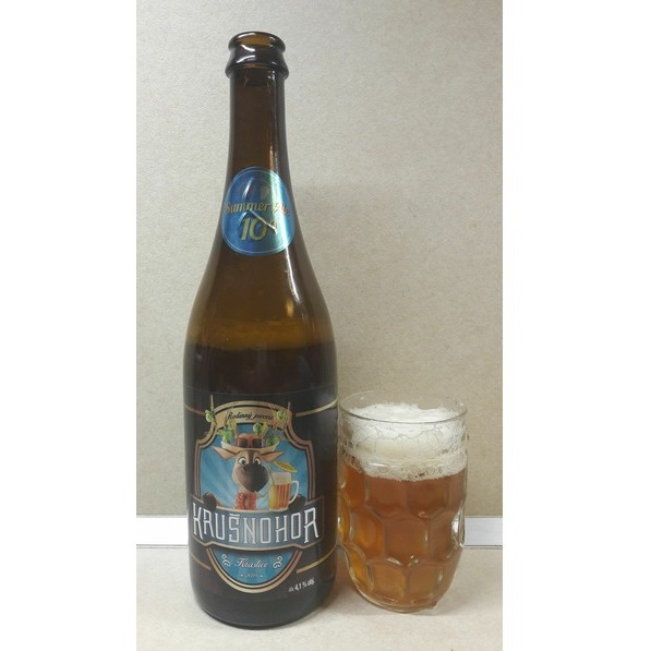 Krušnohor Mountain ale summer 1l