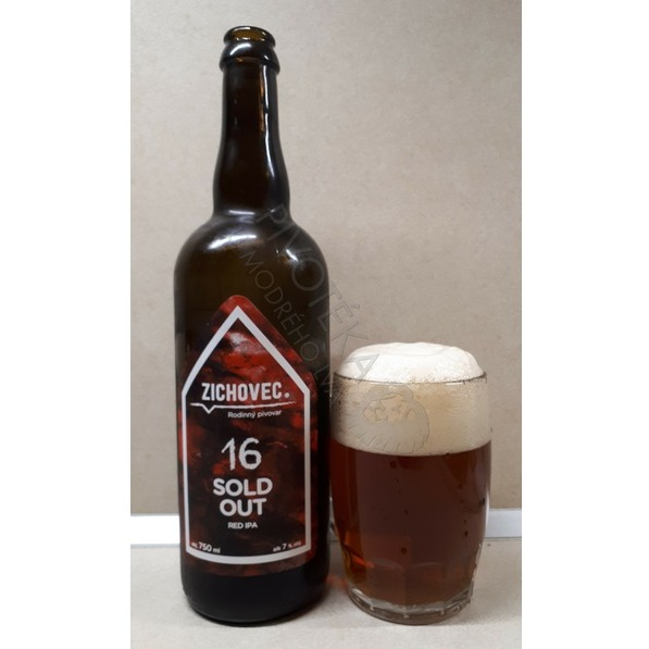 Zichovec Sold Out Red IPA 16°