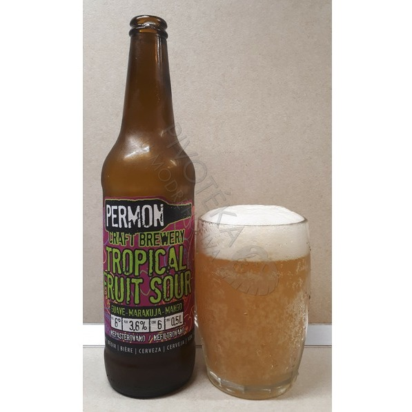 Permon Tropical Fruit Sour beer 8°