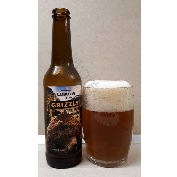 Cobolis Grizzly Imperial IPA 18°