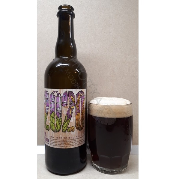 Mazák 2020 American Strong Ale 20°  0,75l sklo