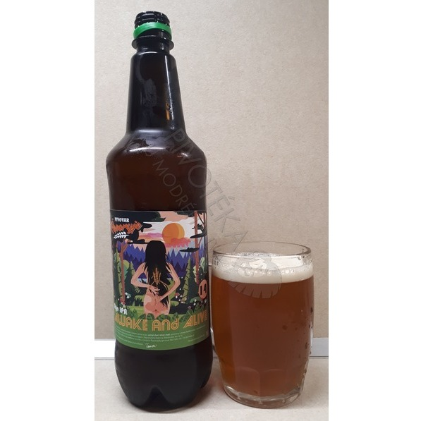 Awake And Alive 14° Rye IPA Řeporyje 1l PET