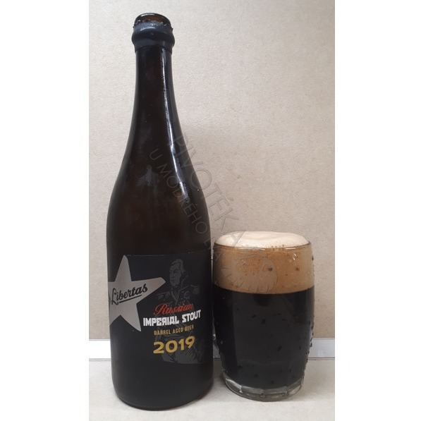 Libertas Imperial Stout Barrel Aged Beer 2019 22,5°