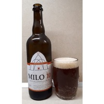 Milo single hop ale 10° Želiv sklo