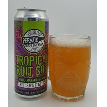 Permon Tropical Fruit Sour plech 0,5l