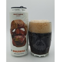Crazy Clown Multikill Chilli and Ginger Black IPA